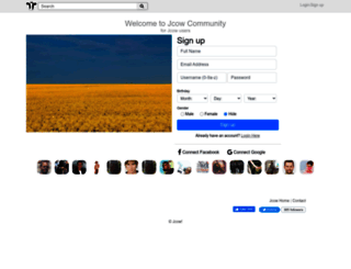 community.jcow.net screenshot