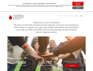 community.lls.org screenshot