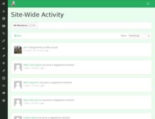 community.permaethos.com screenshot