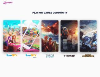 community.playkot.com screenshot