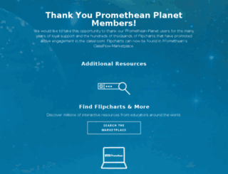 community.prometheanplanet.com screenshot
