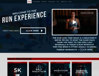 community.therunexperience.com screenshot