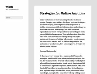 community.webidz.com screenshot