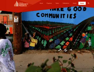 communityprogress.net screenshot