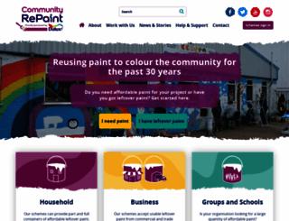 communityrepaint.org.uk screenshot