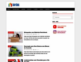 comofazeremcasa.net screenshot