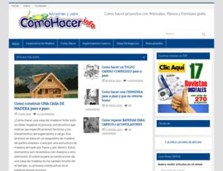 comohacer.info screenshot