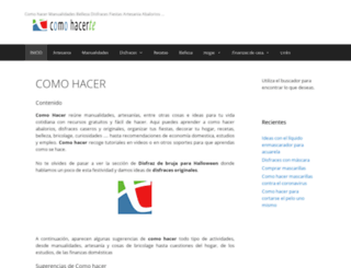 comohacerte.com screenshot