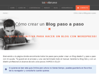 comohacerunblogya.es screenshot
