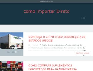 comoimportardireto.net screenshot