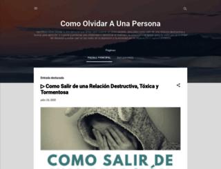 comoolvidaraunapersona.blogspot.com screenshot