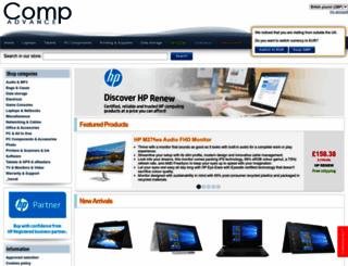 compadvance.co.uk screenshot