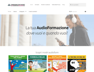 compagniadeitalenti.com screenshot