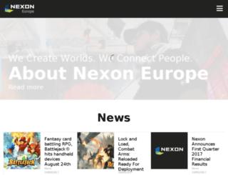 company.nexoneu.com screenshot