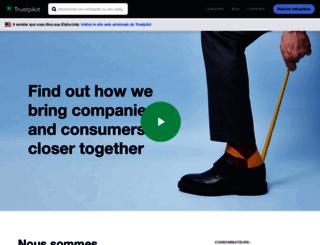 company.trustpilot.fr screenshot