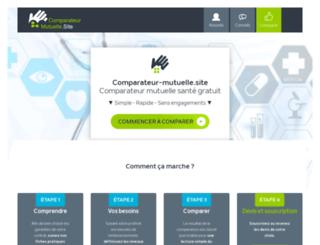comparaisonmutuellesante.net screenshot