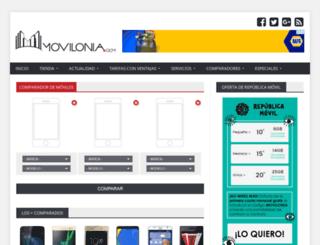 compararmoviles.movilonia.com screenshot