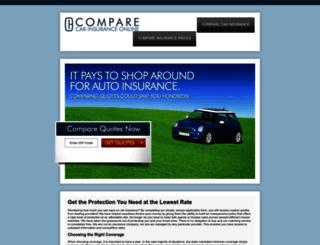 comparecarinsuranceonline.com screenshot