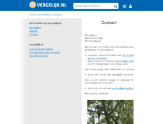 comparegroup.eu screenshot