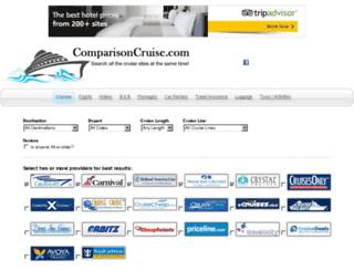 comparisoncruise.com screenshot
