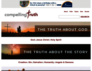compellingtruth.org screenshot