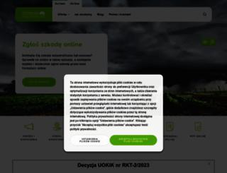 compensa.pl screenshot