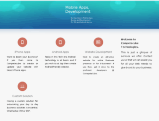 competecube.com screenshot