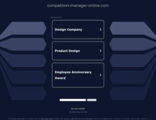 competition-manager-online.com screenshot