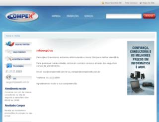 compexweb.com.br screenshot