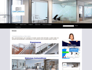 complementosyherrajes.com screenshot