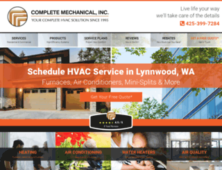 complete-hvac.com screenshot