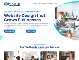 completemediaworks.com screenshot