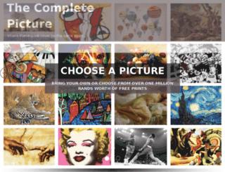 completepicture.co.za screenshot