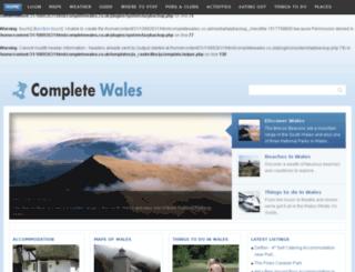 completewales.co.uk screenshot