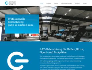 complex-light.de screenshot