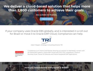 compliancefiscal.com.br screenshot