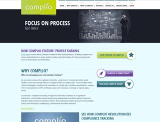 complio.com screenshot