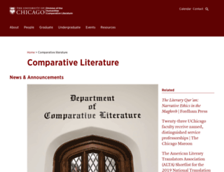 complit.uchicago.edu screenshot