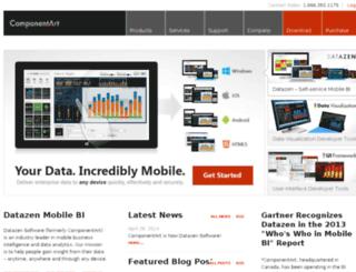 componentart.com screenshot