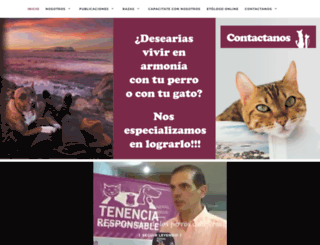comportamientoanimal.com screenshot