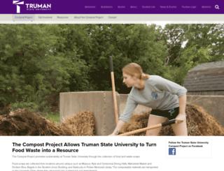 compost.truman.edu screenshot
