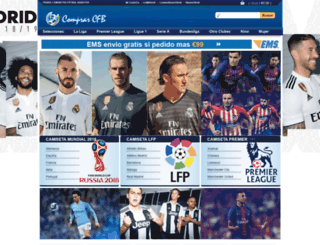 comprarcamisetasfutbolbaratas.com screenshot