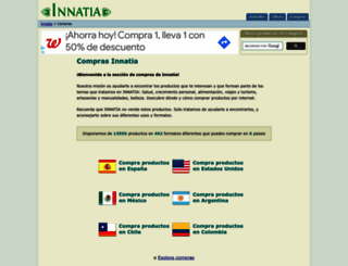 compras.innatia.com screenshot