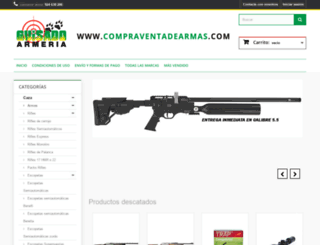 compraventadearmas.com screenshot