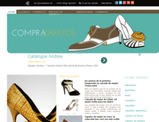 comprazapatos.es screenshot