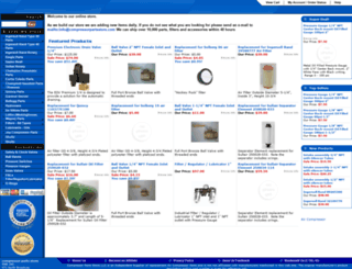 compressorpartsstore.com screenshot