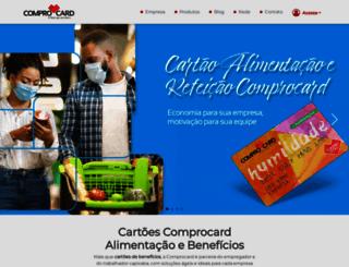 comprocard.com.br screenshot