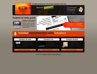compteur-visite.com screenshot