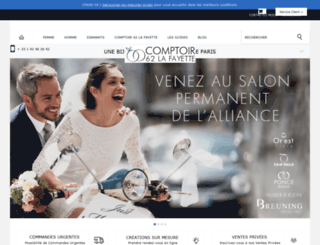 comptoir-62-la-fayette.com screenshot