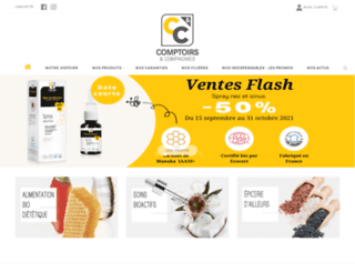 comptoirsetcompagnies.com screenshot